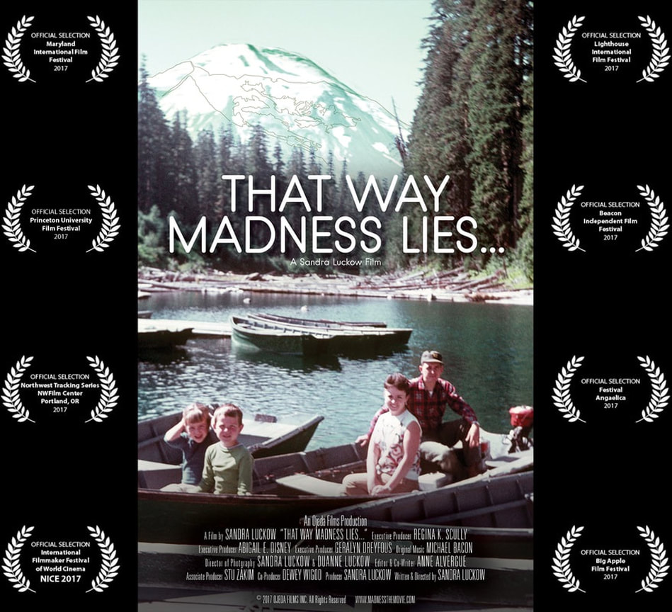 That Way Madness Lies... poster with laurels